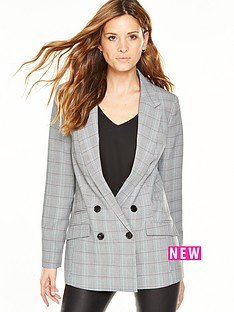 v-by-very-check-blazer