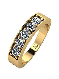 moissanite-moissanite-premier-collection-9ct-gold-100ct-total-moissanite-eternity-ring