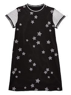 v-by-very-girls-double-layer-star-dress