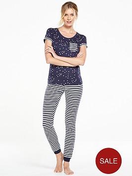 v-by-very-heart-and-stripe-pyjama-set