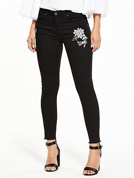 v-by-very-floral-embroidered-ella-skinny-jean