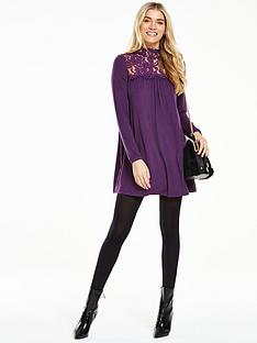 v-by-very-lace-yoke-high-neck-tunic