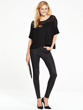 v-by-very-chiffon-yoke-boxy-top