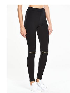 v-by-very-jersey-zip-knee-legging