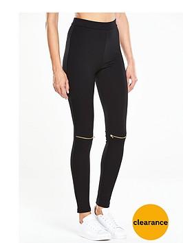 v-by-very-jersey-zip-knee-legging