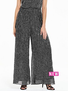 v-by-very-lurexnbspwide-leg-trouser