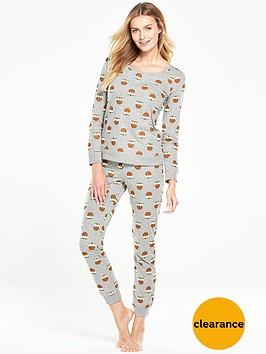 v-by-very-christmas-pudding-two-piece-pyjama-setnbsp