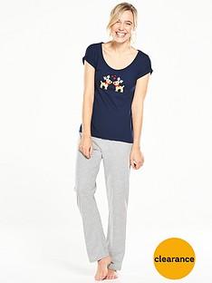 v-by-very-reindeer-pyjama-setnbsp
