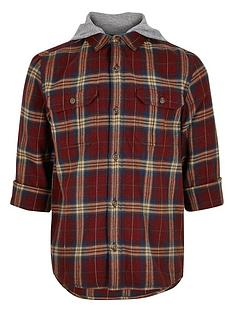 river-island-boys-rust-hooded-check-shacket