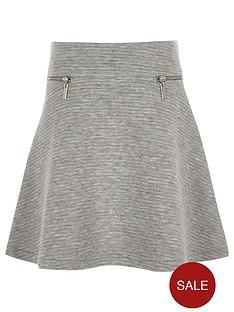 river-island-girls-grey-textured-zip-skater-skirt