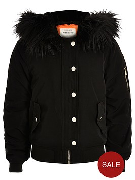 river-island-girls-hooded-bomber-jacketnbspwith-faux-fur-trim