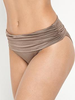 Pour Moi Azure Foldover Bikini Pant