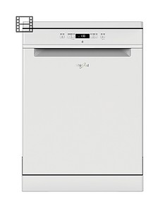 Whirlpool Supreme Clean WFC3C26 14-Place Dishwasher - White