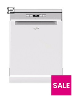 Whirlpool Supreme Clean WFO3P33DL 14-Place Dishwasher - White