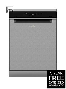 Whirlpool Supreme CleanWFO3P33DLX14-Place Dishwasher - Stainless Steel Best Price, Cheapest Prices