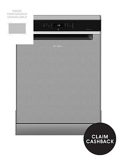 Whirlpool Supreme Clean WFO3P33DLX 14 Place Dishwasher - Stainless SteelWith 5-year FREE Extended Warranty