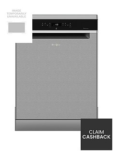 Whirlpool Supreme CleanWFO3P33DLX14 Place Dishwasher - Stainless SteelWith 5-year FREE Extended Warranty Best Price, Cheapest Prices