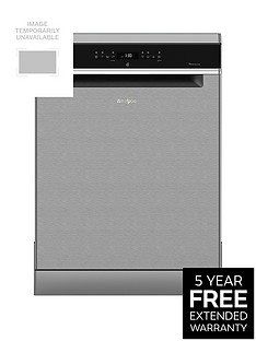 Whirlpool Supreme Clean WFO3P33DLX 14-Place Dishwasher - Stainless SteelWith 5-year FREE Extended Warranty