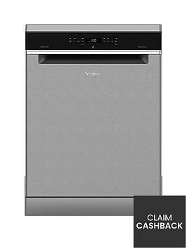 whirlpool-supreme-cleannbspwfo3p33dlxnbsp14-place-dishwasher-stainless-steelbr-with-5-year-free-extended-warranty