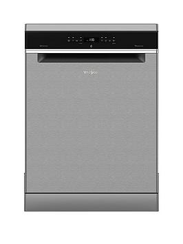 Whirlpool Wfo3P33Dlx 14-Place Dishwasher With Quick Wash, 6Th Sense, Power Clean Pro And Power Dry - Stainless Steel Best Price, Cheapest Prices