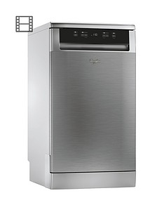 Whirlpool ADP301IX 10-Place Slimline Dishwasher - Stainless Steel Best Price, Cheapest Prices