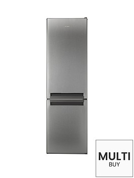 whirlpool-blf8121ox-595cm-fridge-freezer-stainless-steel