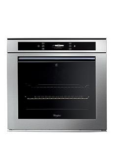 whirlpool-fusion-akzm694ixl-built-in-electric-single-oven-stainless-steel