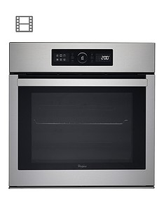 whirlpool-absolute-akz6270ix-built-in-electric-single-oven-stainless-steel