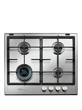 whirlpool-fusion-gmf6422ixl-built-in-gas-hob-stainless-steel