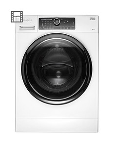Whirlpool Supreme Care FSCR90430 9kg Load, 1400 Spin Washing Machine - White