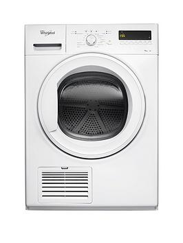 whirlpool-ddlx90110-9kg-load-heat-pump-tumble-dryer-white