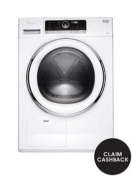 whirlpool-supreme-care-hscx90423-9kg-load-heat-pump-tumble-dryer-white