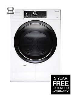 whirlpool-supreme-care-premium-hscx10431-supreme-care-10kg-heat-pump-tumble-dryer-white