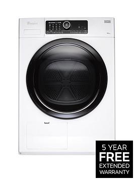 whirlpool-supreme-care-premium-hscx10431-supreme-care-10kg-heat-pump-tumble-dryer-white