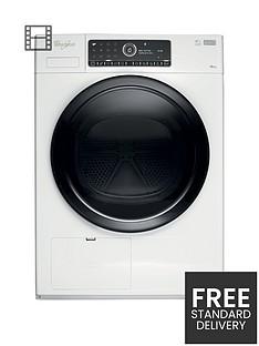 whirlpool-supreme-care-premium-hscx10441-10kg-load-heat-pump-tumble-dryer-white