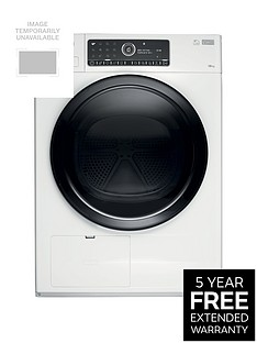 Whirlpool Supreme Care Premium+ HSCX10441 10kg Load, Heat Pump Tumble Dryer - WhiteWith 5-year FREE Extended Warranty