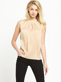 vila-sleeveless-shell-blouse