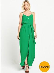 river-island-button-down-split-front-maxi-dress