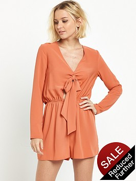 river-island-tie-front-playsuit