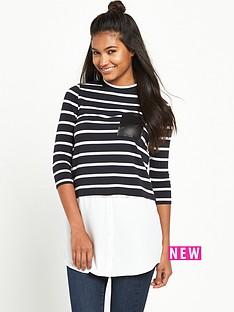 river-island-long-sleeve-stripe-top
