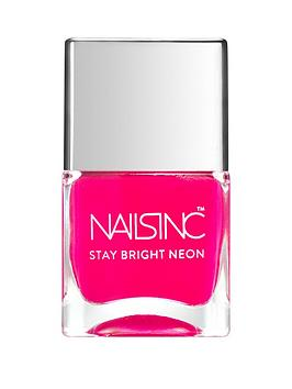 nails-inc-claridge-gardens-stay-bright-neon-nail-polish-neon-pink