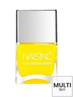 nails-inc-golden-lane-stay-bright-neon-nail-polish-neon-yellownbspamp-free-nails-inc-nail-file