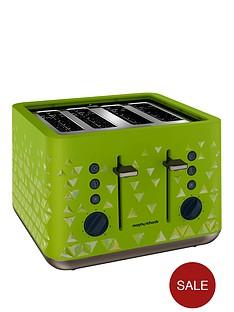 morphy-richards-prism-4-slice-toaster-green