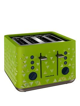 morphy-richards-prism-4-slice-toaster-green