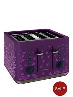morphy-richards-prism-4-slice-toaster-purple