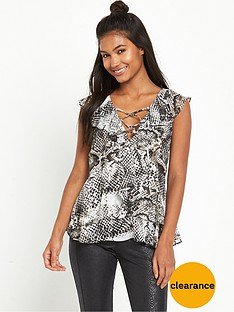 river-island-cold-shoulder-snake-top