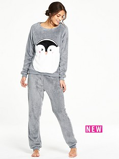 v-by-very-penguin-fleece-twosie-pyjamas