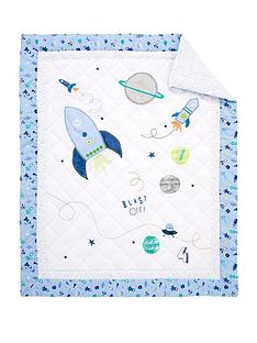 mothercare-space-dreamer-cot-bed-quilt