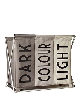 Sabichi Light, Dark &Amp; Colour Laundry Bag