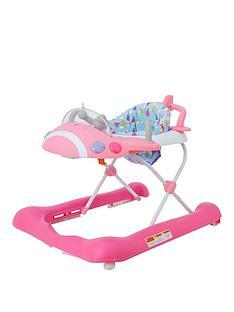 mothercare-plane-walker-pink